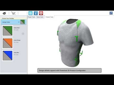 Athletic Apparel Design Software for Manufacturers