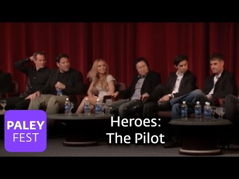 Heroes - Grunberg, Roberts, Coleman & Panettiere on the Pilot (Paley Center, 2007)