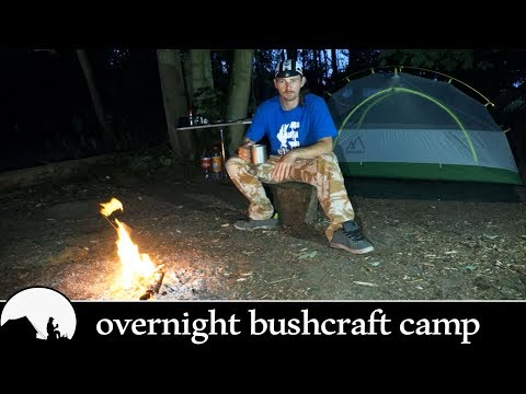 PRO CYCLIST CAMPS OVERNIGHT IN A WOODS!