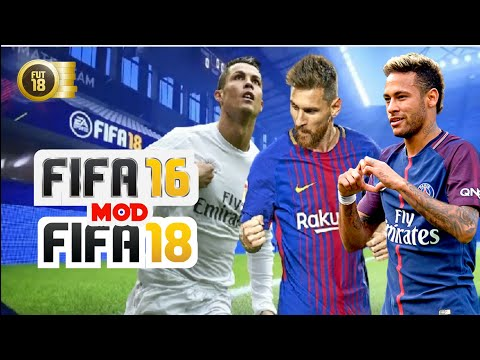 FIFA 16 Mod FIFA 18 Android 1.4 GB Real Faces High Graphics