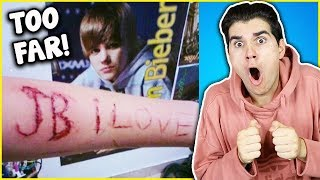 Craziest Fangirls Of All Time!
