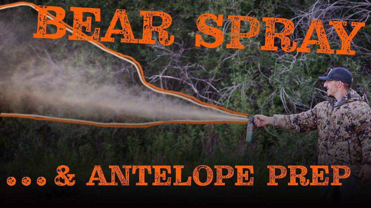 Bear Spray Test | Antelope Prep | Rattlesnakes, Oh My. . .