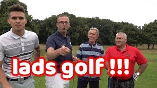 JUST LADS PLAYING GOLF AND HAVING A LAUGH  BARMY ARMY TOUR