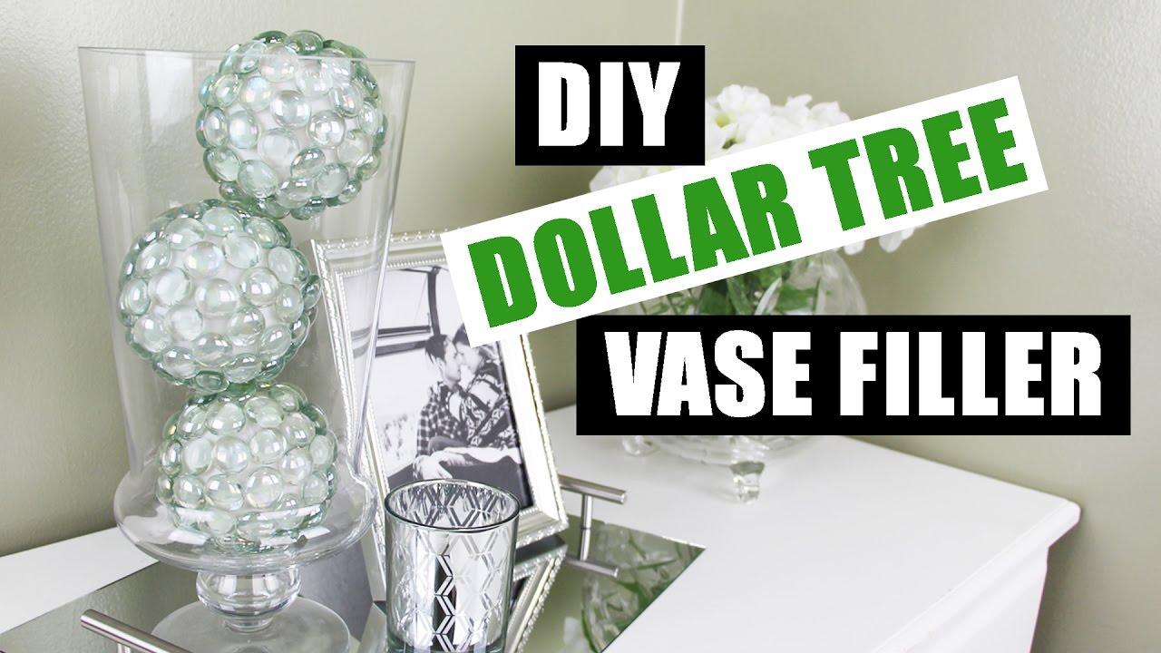 DIY DOLLAR TREE BLING VASE FILLER Easy Cheap Dollar