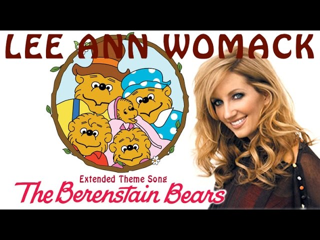 lee-ann-womack-the-berenstain-bears-extended-theme-song-luckystarcountry