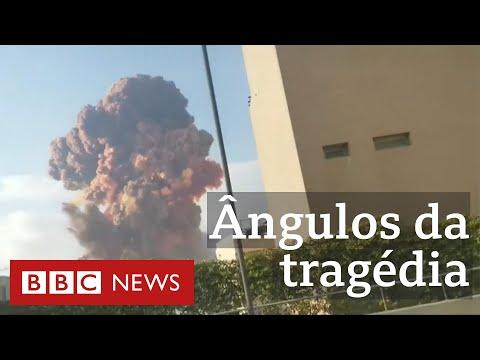 Explosão no Líbano: veja, de vários pontos, cenas da tragédia