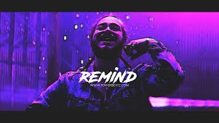 R E M I N D - Post Malone Type Beat | Emotional Trap Instrumental (Prod. Tower)