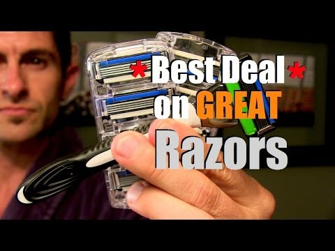 Best Deal on Great Razors: How To Shave and Save Money (Shave MOB Rocks!)