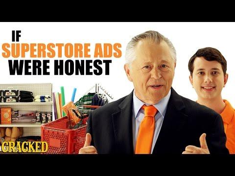 If Superstore Ads Were Honest - Honest Ads (Target, Walmart Parody)