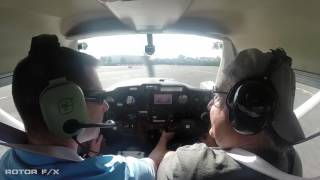 Brian Vickers Discovery Airplane flight lesson at ROTOR F/X on April 16th, 2017 thumbnail