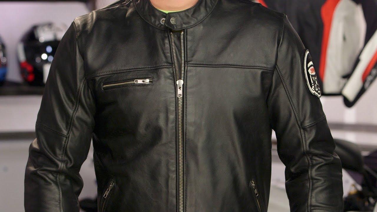 Spidi Originals Leather Jacket Review At Revzilla Com