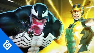 Exclusive Gameplay Of Venom Boss Fight In Marvel Ultimate Alliance 3