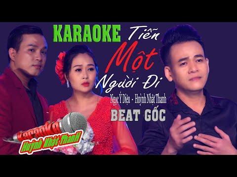 Tiễn Một Người Đi I Karaoke Song Ca | Huỳnh Nhật Thanh ft Ngọc Ý Diệu | Beat Chuẩn | Tone Em