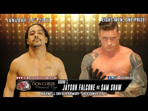 Jayson Falcone v Sam Shaw - Opening Round - 2017 Don Curtis Memorial Cup