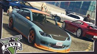 CAR MEETS & DRAG RACING IN GTA 5!