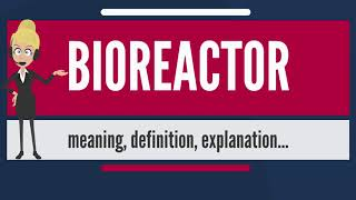 What is BIOREACTOR? What does BIOREACTOR mean? BIOREACTOR meaning, definition & explanation