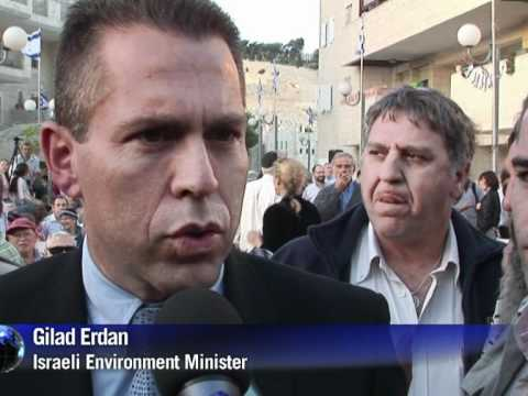 Israel leaders attend east Jerusalem settler ceremony