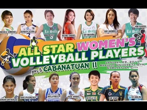 Cabanatuan All Stars vs All Star Women