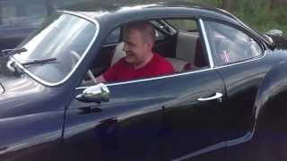 Vw karmann ghia turbo test drive