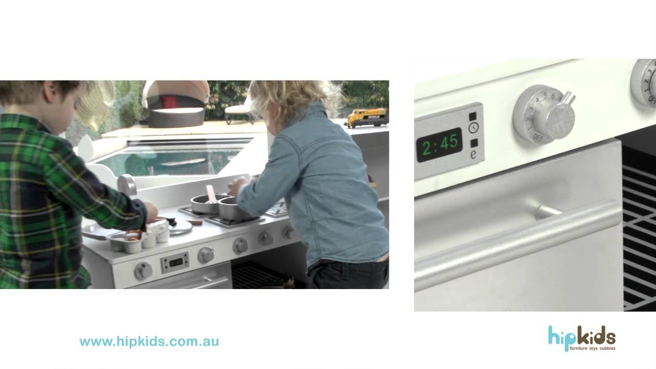 Gourmet Toy Play Kitchen by Hip Kids - YouTube
