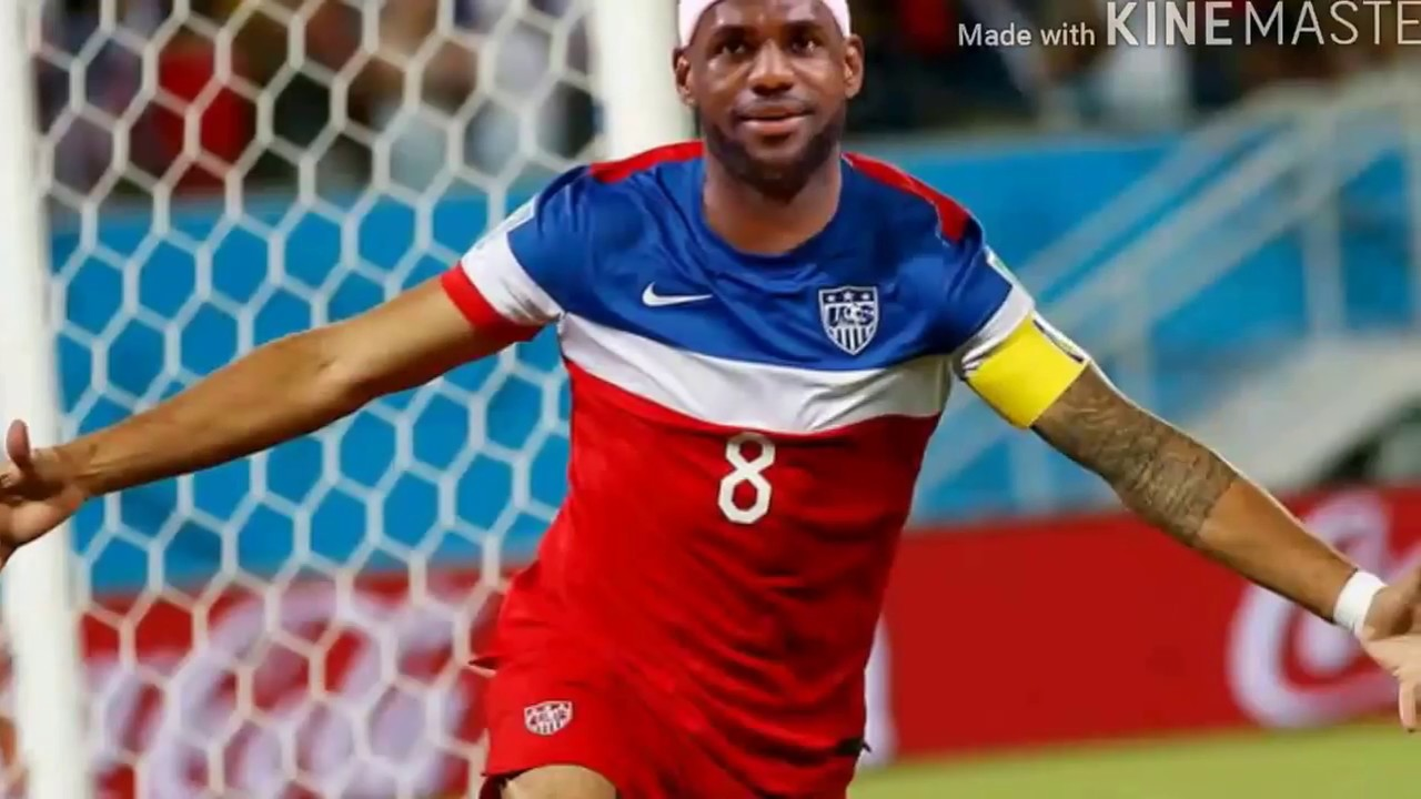 best service e8151 315fd LeBron Plays Soccer?