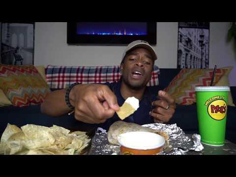 EXTREMELY BIG MOE'S BURRITO MUKBANG !   EAT SHOW