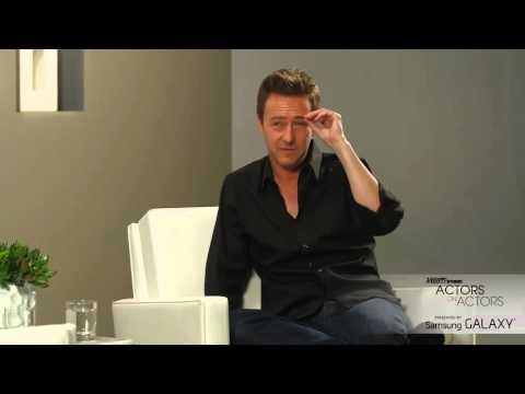 Actors on Actors  Benedict Cumberbatch and Edward Norton   Full Video