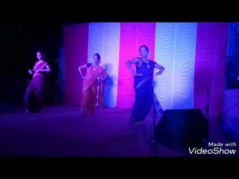 Jyachya Pashi Gadi Bangla Dance Performance  Dev Pavala  Ladghar Beach  10 May 2018