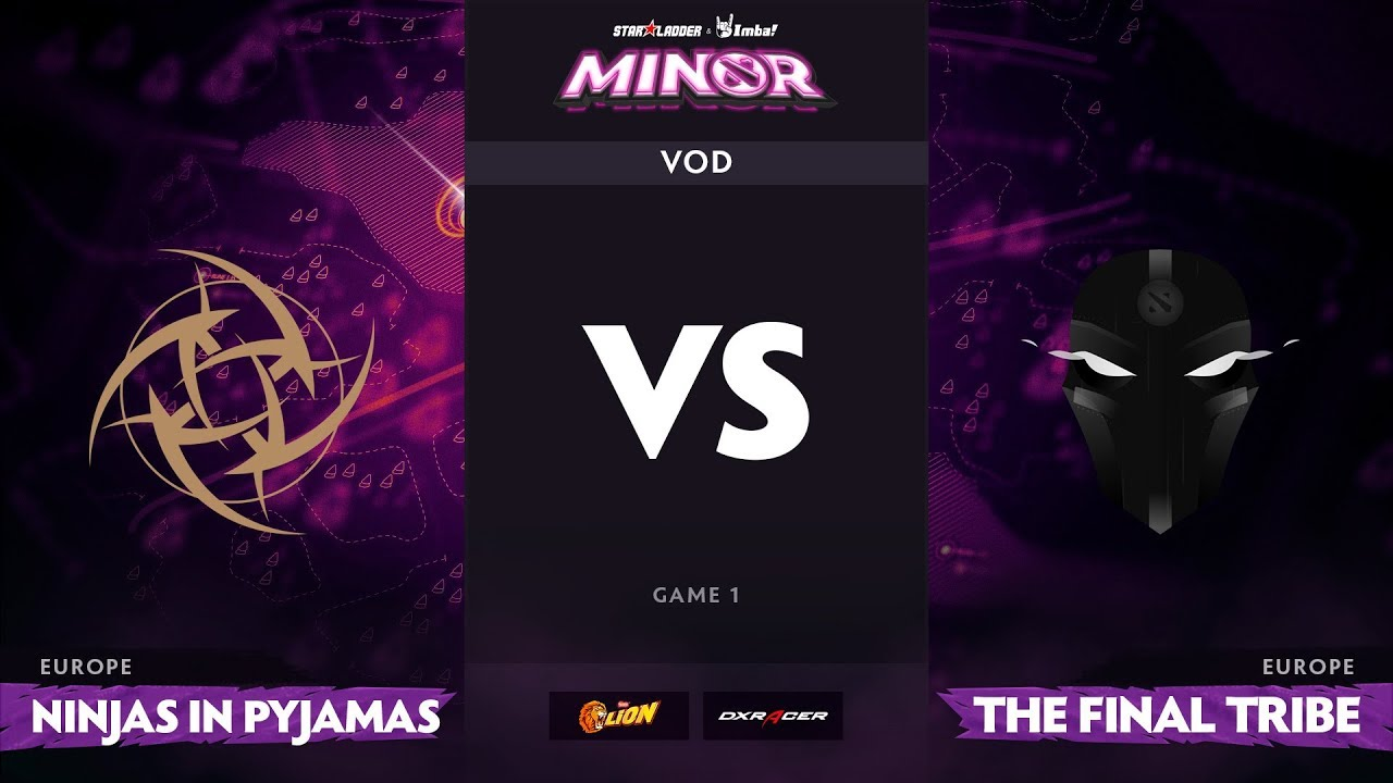[RU] Ninjas in Pyjamas vs The Final Tribe, Game 1, StarLadder ImbaTV Minor S2 EU Qualifiers