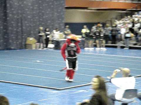 Benny the Bull from the Chicago Bulls