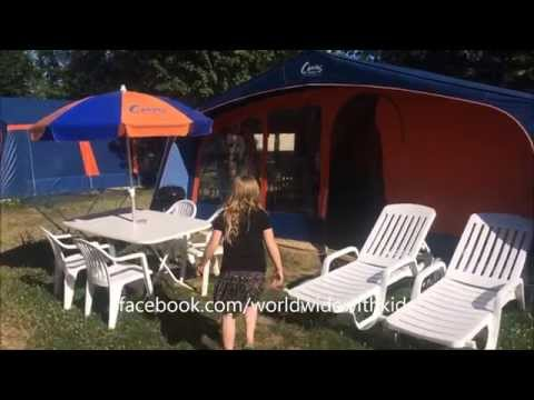 Canvas Holidays Glamping Tent Walk Through