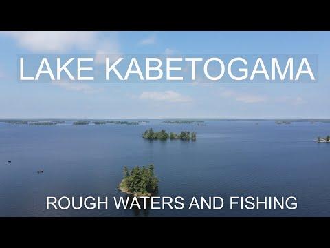 Fishing The GREAT LAKE KABETOGAMA Part 1