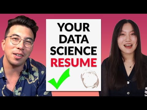 Data Science Resume Round-Up With Tina Huang - Episode 1