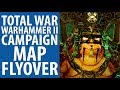 Total War: Warhammer 2 campaign map flyover