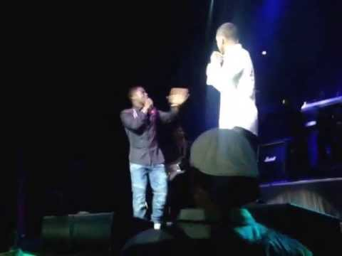 TREYSONGZ AND KEVIN HART IN HOUSE OF BLUES