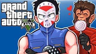 GTA 5 - STEAL THE KHANJALI TANK! - (Dooms Day Heist!) Part 7!