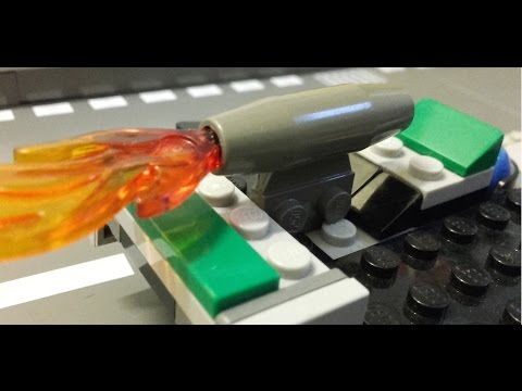 Lego F1 Baku Grand Prix highlights 2016