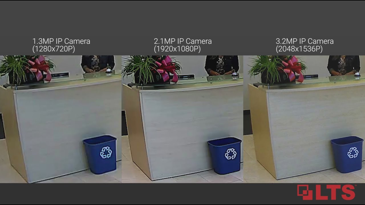 Ip Camera Comparison Lts Platinum 1 3mp 2 1mp 3 2mp