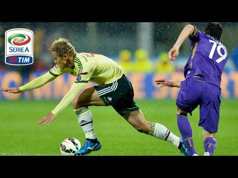 Fiorentina - Milan 2-1 - Highlights - Giornata 27 - Serie A TIM 2014/15