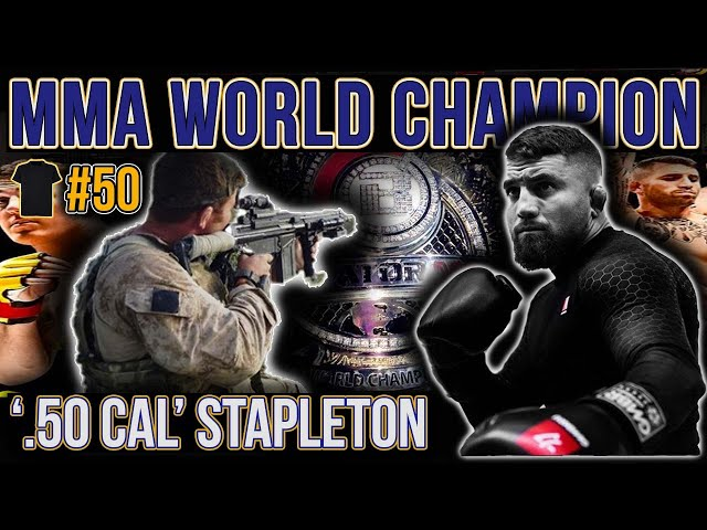 Special Forces Support Group, Afghan | MMA World Champion | Martin 50 Cal Stapleton | Royal Marines