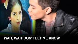 Alden Richards - Everytime I see you w/ Lyrics [AlDub]