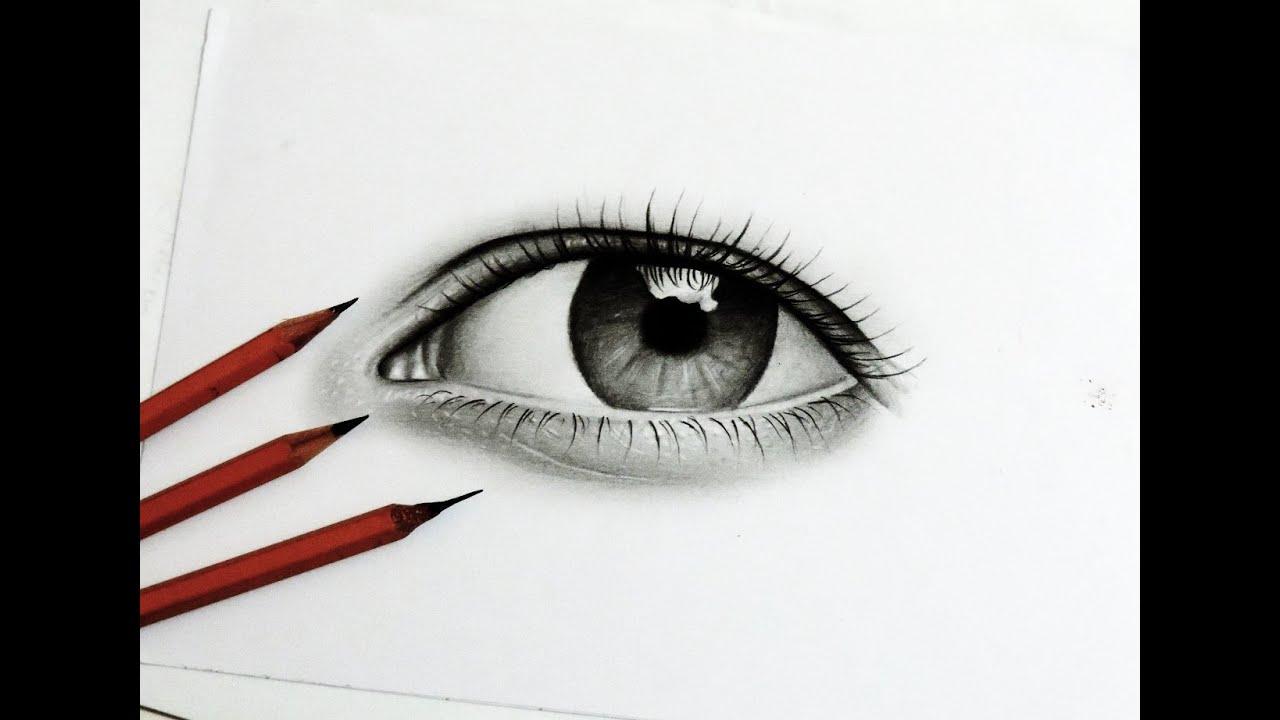 Aprenda Desenhar olhos 6