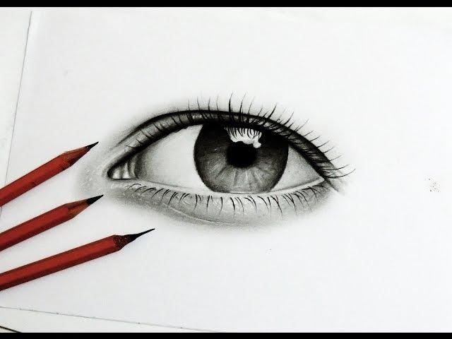 Tutorial Como Desenhar Um Olho Realista How To Draw Realistic