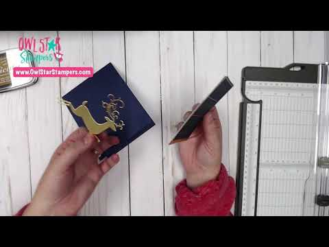 Making Two Christmas Cards With The Dashing Deer Stamp Set
