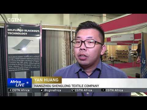 Chinese textile manufacturers showcase wears in South Africa