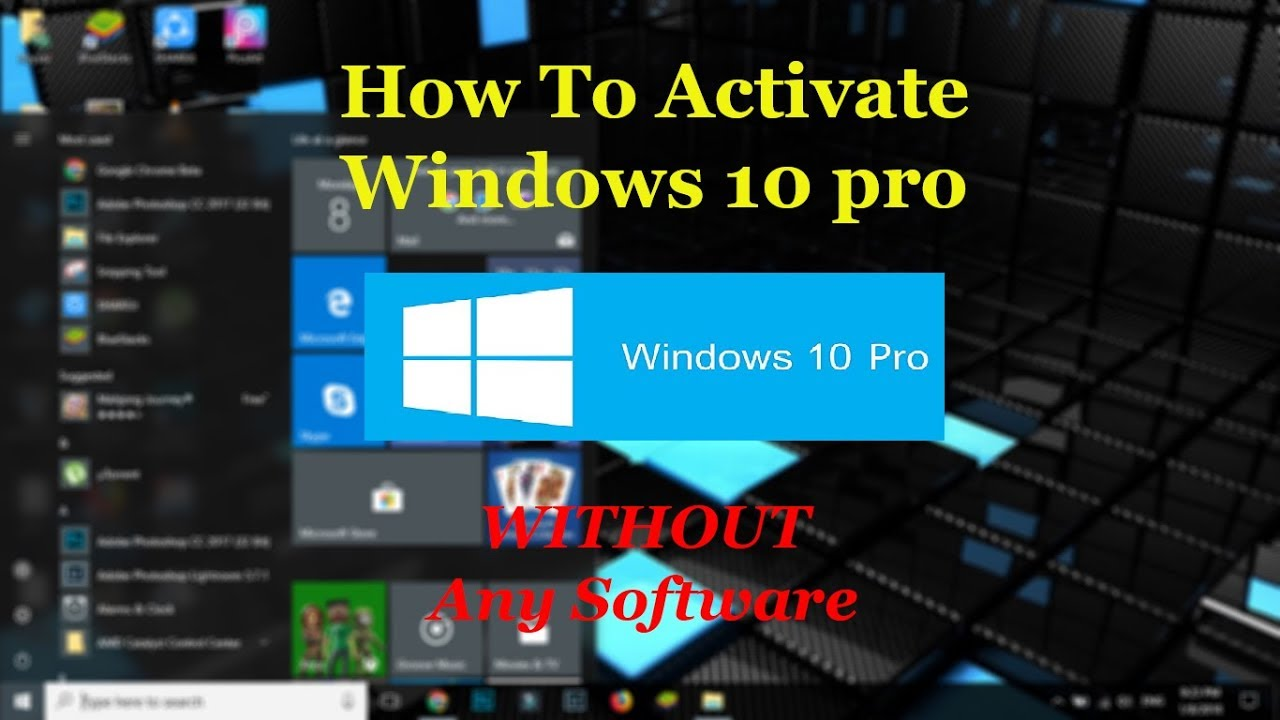 How To Activate Windows 10 pro/home | Product Key | 100% ...