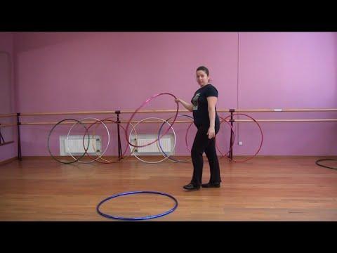 Урок мастерства онлайн по работе с обручами от Светланы Князевой.