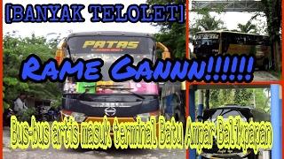 Ramai Banget!!!! Bus artis nya kalimantan!!!! Banyak telolet!!!!