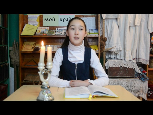 Изображение предпросмотра прочтения – ЕленаСолина читает произведение «Мороз и солнце» А.С.Пушкина