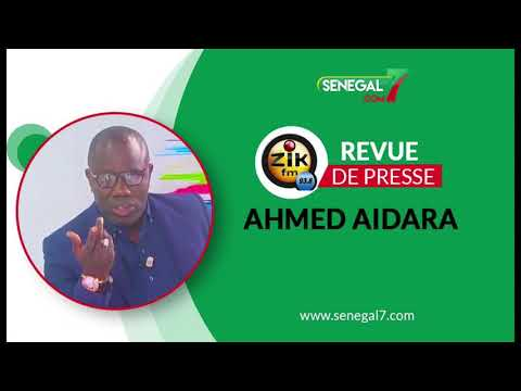 Revue De Presse (wolof) Zik Fm Du Mardi 17 Aout Avec Ahmed Aidara